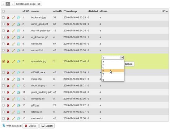 Chive - next generation MySQL database management tool