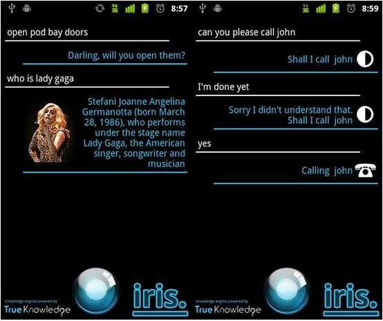 IRIS for Android
