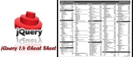 Download jQuery 1.4 Cheat Sheet