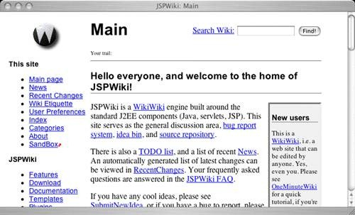 jspwiki 17 open source wiki software for Teams