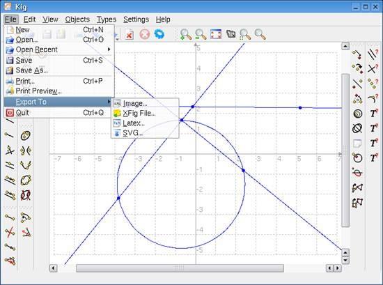 kig-snap-exporters - Open Source information graphics software
