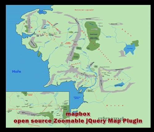 mapbox - open source Zoomable jQuery Map Plugin