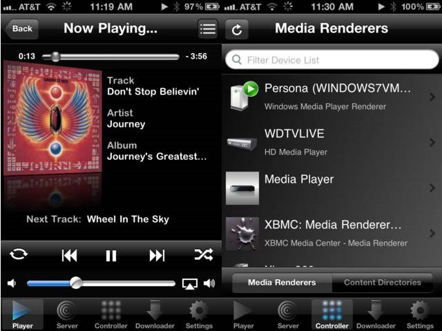 media connect - DLNA Streaming Apps For iPhone