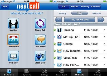 Neatcall Mobile Scheduling