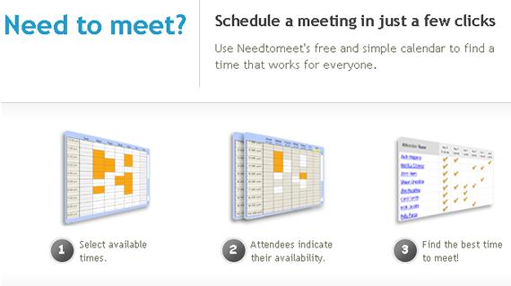 needtomeet - online appointment scheduling software