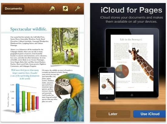Pages for iPhone - Mobile Word Processing Apps for iPhone