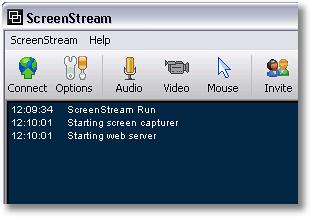 ScreenStream - desktop screen sharing tool