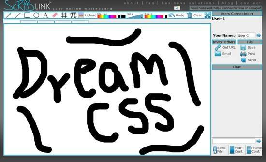 scriblink free online collaborative whiteboard - Best Of
