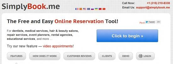 simplybook-me - online appointment scheduling software