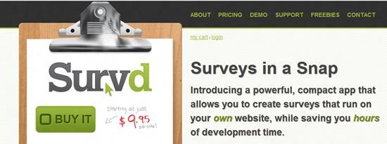 Survd Survey software