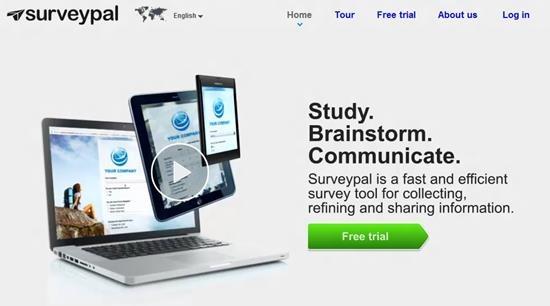 Surveypal Survey software