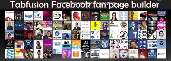 tabfusion Custom Facebook Fan page builder