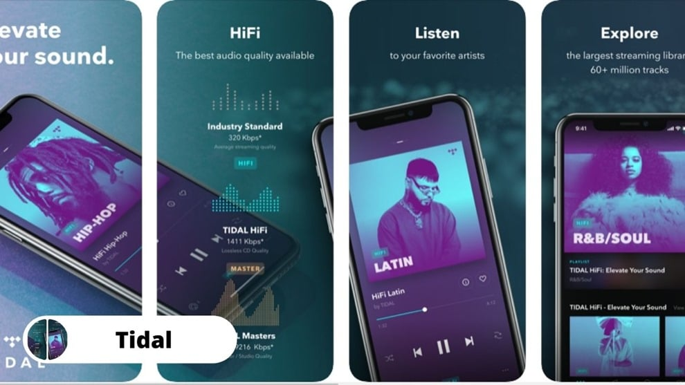 tidal - Download Free Music on iPhone