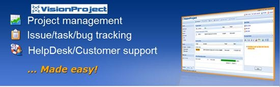 vision project - project management software