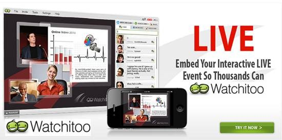 watchitoo - Real time multistreaming collaboration platform