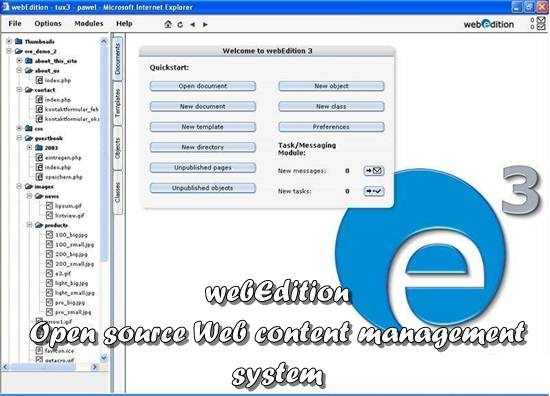 webEdition - Open source Web content management system