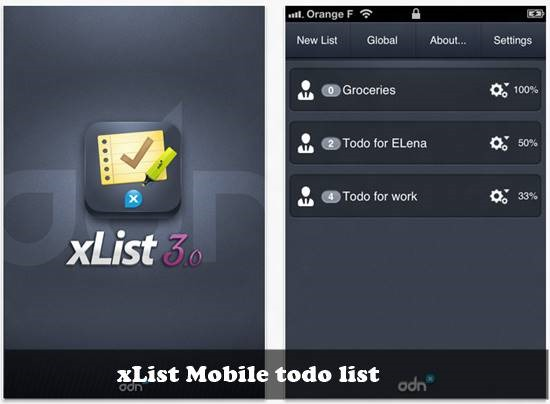 Delegate - to do list for ios