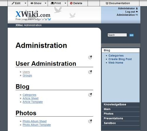 xwiki 17 open source wiki software for Teams