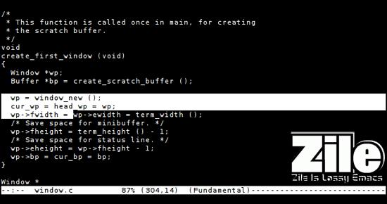 zile-UNIX-text-Editor